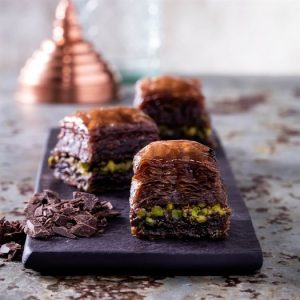 Baklava with Chocolate Pistachio, 35oz - 1kg