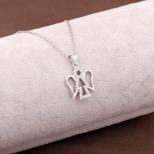 Angel Design Silver Necklace 2946