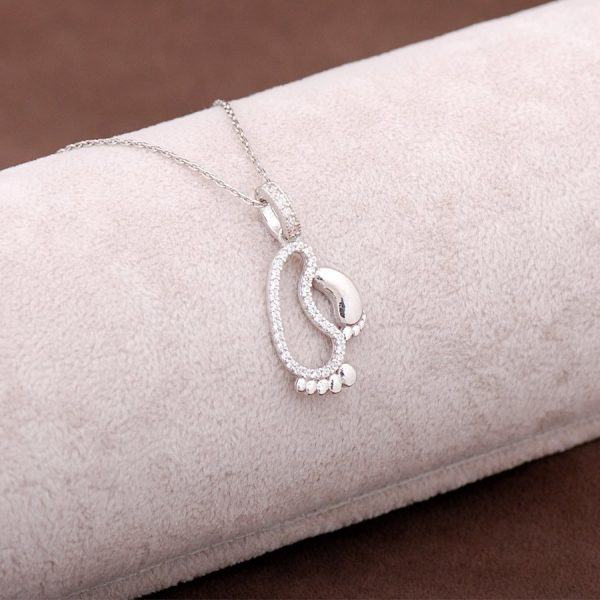 First Step Design Silver Necklace 2943