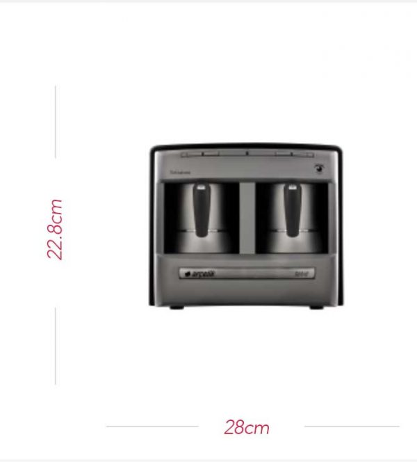 Beko/Arcelik Turkish Coffee Machine (2 Pots)