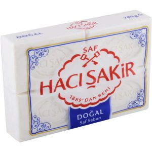 Haci Sakir - Turkish Hammam Soap, 4 Bars, 24.69oz - 700g