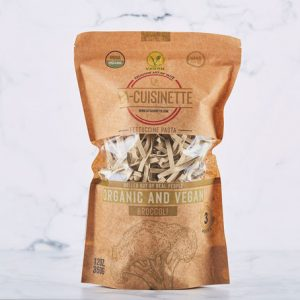 La-Cuisinette, Organic & Vegan Fettuccini with Broccoli, 12.34oz - 350g