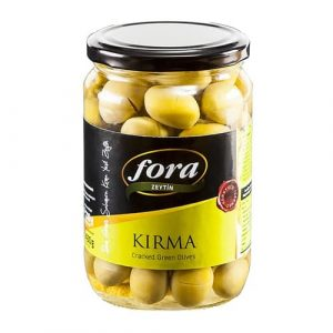 Cracked Green Olives Fora, 14oz - 400g