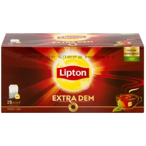 Lipton Extra Dem, 25 Bags for Teacup