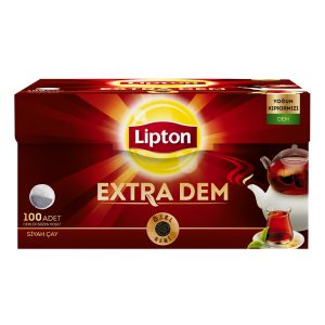 Lipton Extra Dem Tea, 100 Bags for Teapot