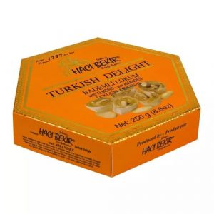 Turkish Delight with Almonds, 8.8oz - 250g