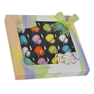 Mushroom Shaped Colorful Chocolate, 16 pieces, 9.52oz - 270g