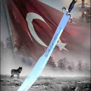 Turkish Star and Crescent Sword, 80cm