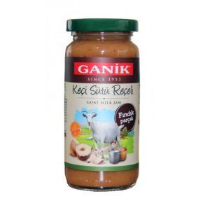 Goat Milk Jam with Hazelnut Pieces, 9.5oz - 270g
